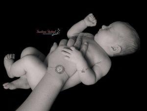 Duo de bracelets maman bébé - argent 925
