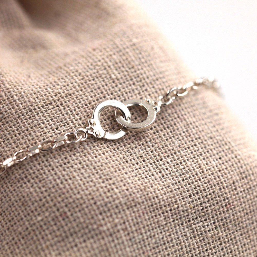 Bracelet homme – Menottes – ARGENT 925