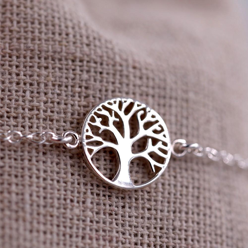 Bracelet femme – Arbre – ARGENT 925