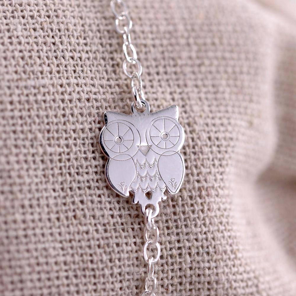 Bracelet – Chouette – ARGENT 925