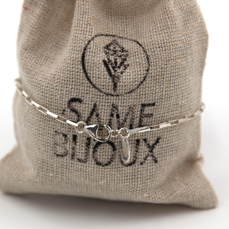 Bracelet homme – Tête de mort – ARGENT 925