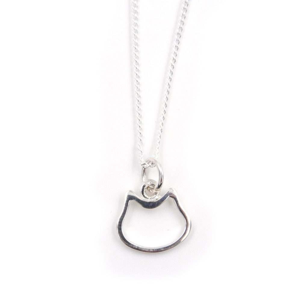 Collier – Chat – ARGENT 925