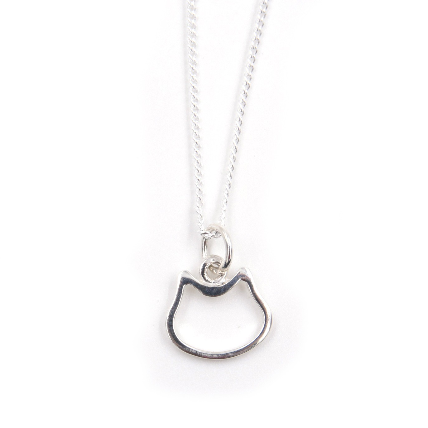 Collier - Chat - ARGENT 925