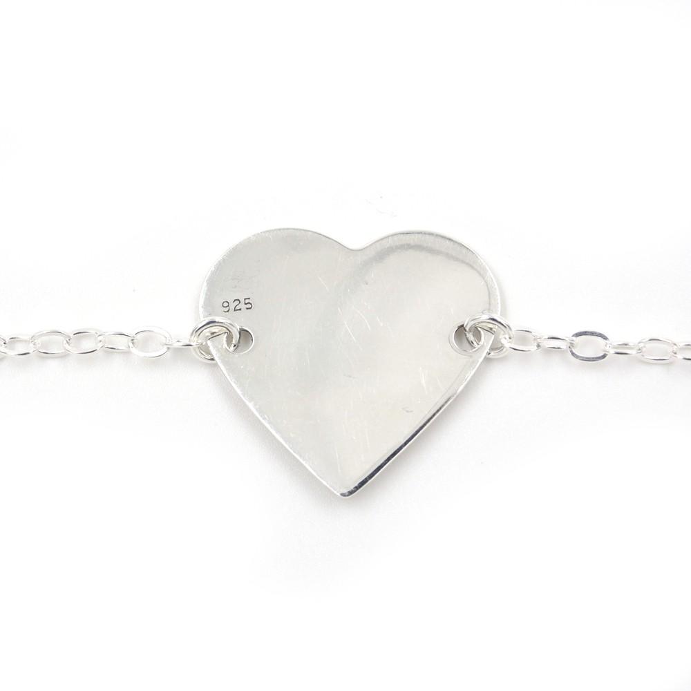 Bracelet – argent 925 – Coeur