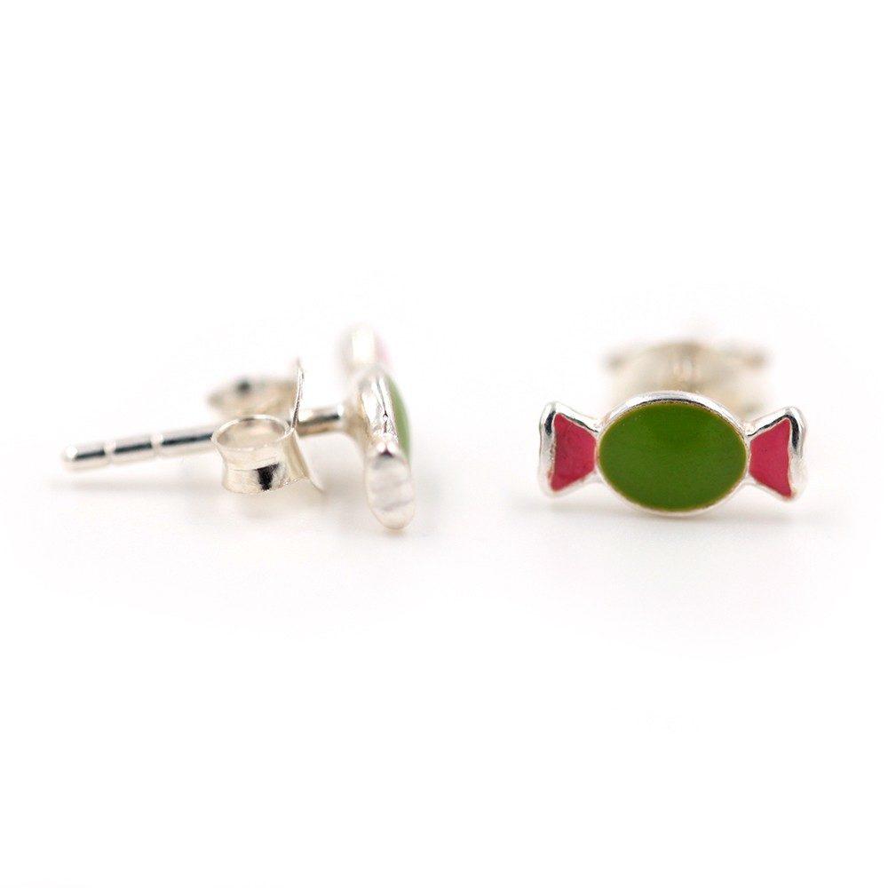Boucles d'oreilles – Bonbons – ARGENT 925