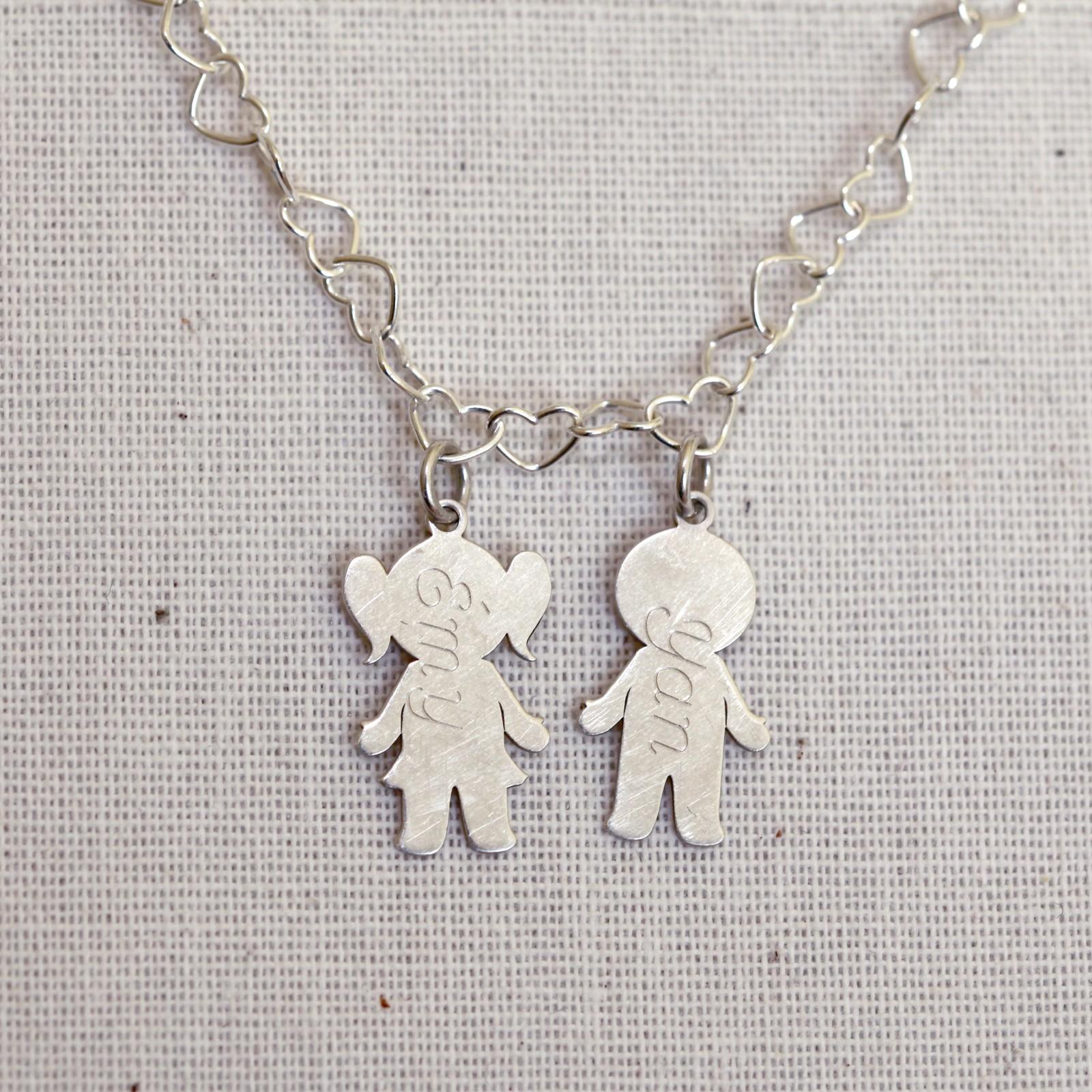 Bijoux collier prénom femme - Argent 925