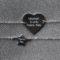 """Duo de Bracelets pour femme gravé """"Maman d'une Petite Fée"""" et pour son bébé """"Petite Fée"""" - bracelet argent 925 - taille ajustable évolutive - idéal pour un cadeau de naissance, baptême ou anniversaire - bijou de créatrice de la marque Same Bijoux Gravure personnalisable"""