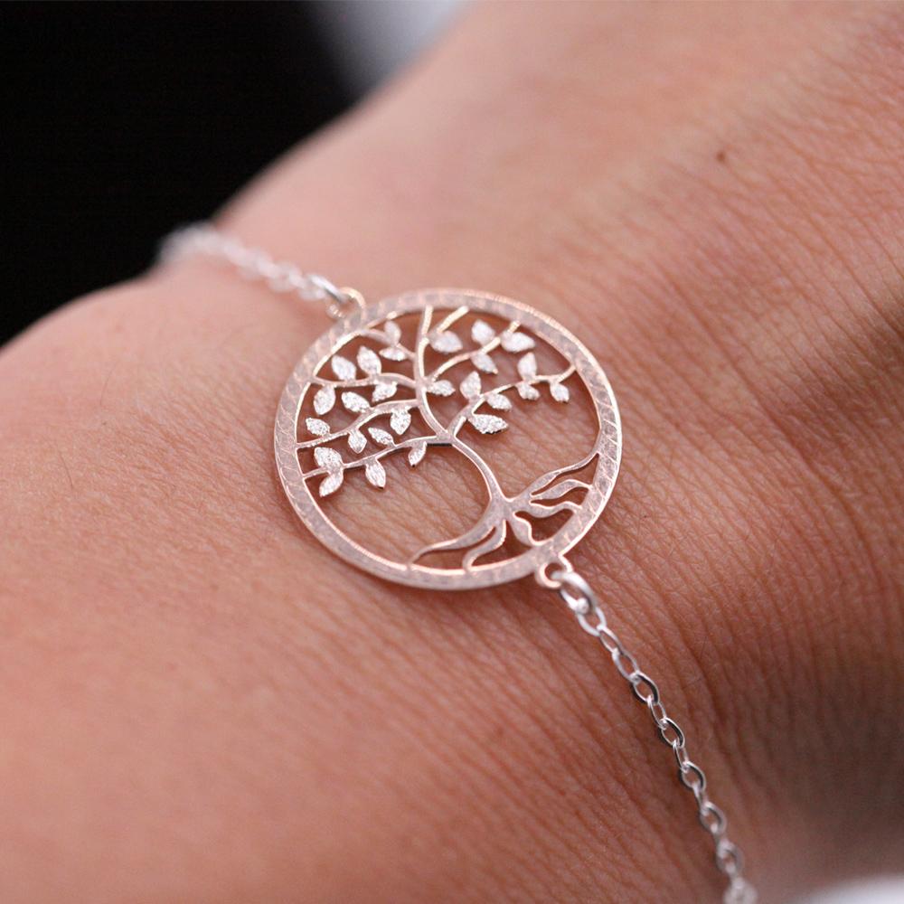 Bracelet femme – Arbre de vie – ARGENT 925