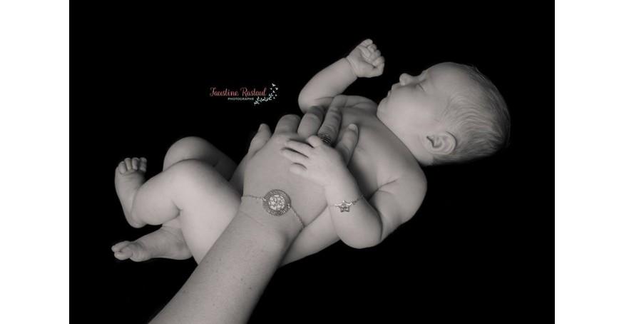 Bracelet BÉBÉ – Petit Poussin – ARGENT 925