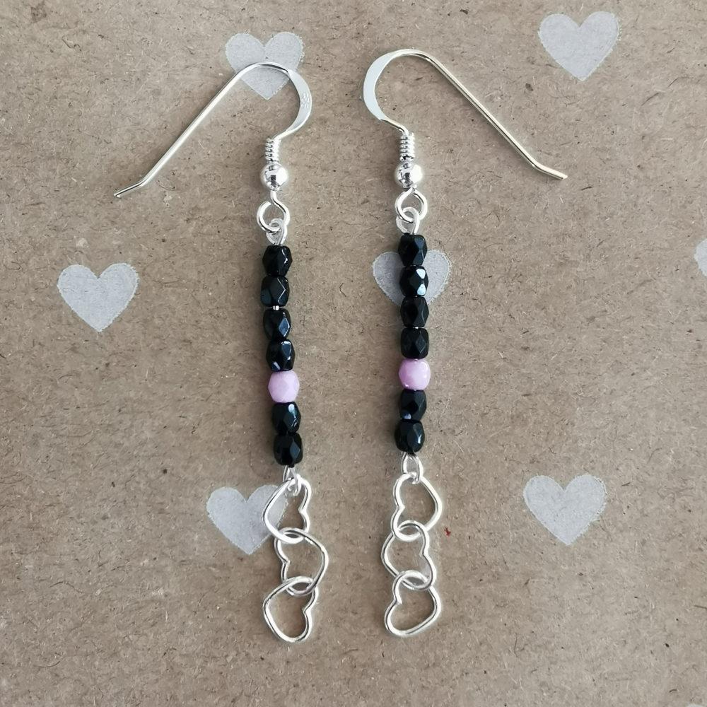 Boucles d'oreilles – Cristal – ARGENT 925