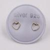 Boucles d'oreilles – Cœurs fins – ARGENT 925