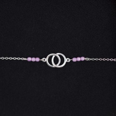 Bracelet – Pink Love – ARGENT 925