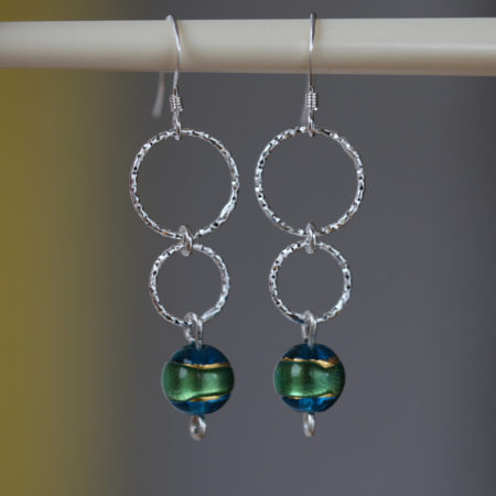 boucle-oreille-murano-argent-925