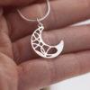Collier – Lune – ARGENT 925