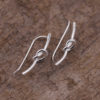 Boucles d'oreilles grimpantes – Nœud – ARGENT 925