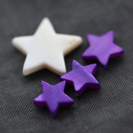 Bracelet – Nacre violet – Argent 925 – Same Bijoux