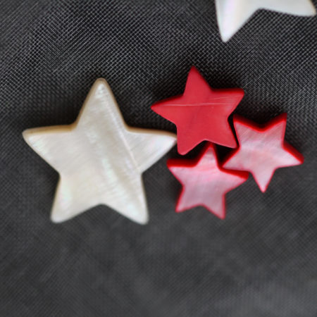Bracelet – Nacre rouge – Argent 925 – Same Bijoux