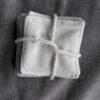 Lingette lavable en bambou – modèle sirène