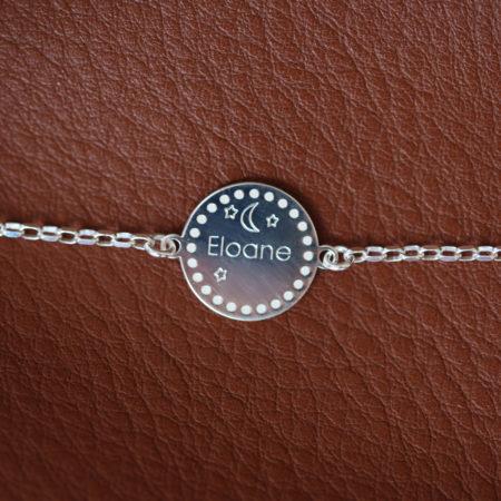 Bracelet – Médaille à personnaliser – ARGENT 925