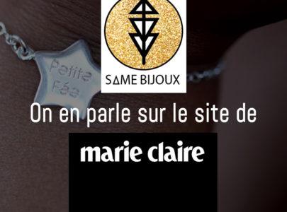 Marie Claire parle de Same Bijoux