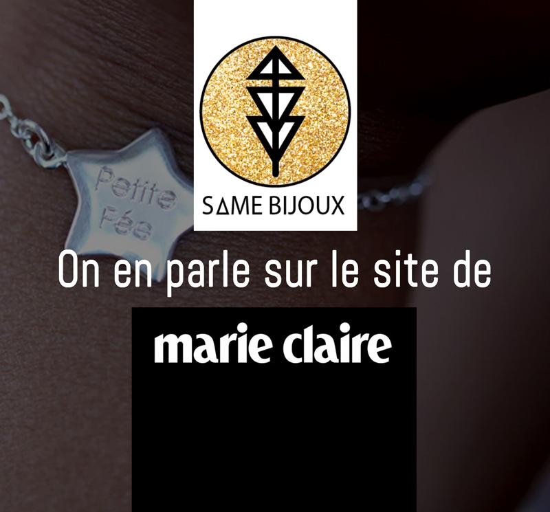 Marie Claire - Same Bijoux - blog - cadeaux de naissance