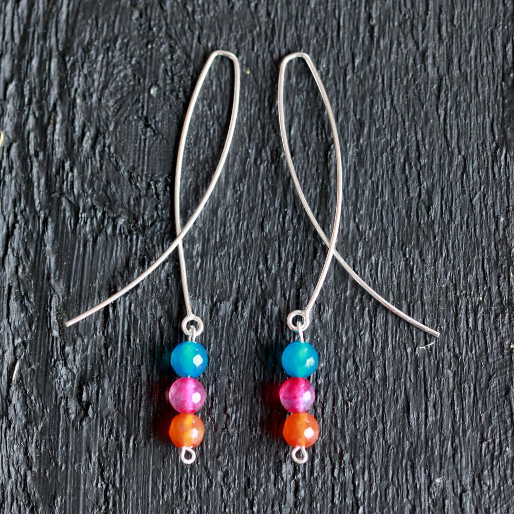Boucles d'oreilles – Haribo – ARGENT 925