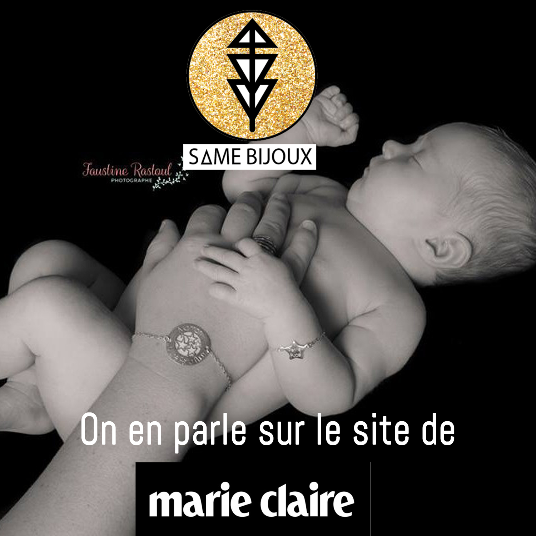 Marie Claire - Same Bijoux - Maman Bébé - adresses incontournables - cadeaux de naissance